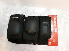 New Razor Multi-Sport Elbow & Knee Pads With Wrist Guard Hardshell Youth 8+ 8Y +