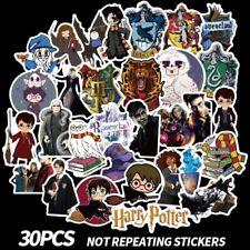 LOT 30 PCS Harry Potter Laptop Luggage Car Sticker Sheet Decal Decor