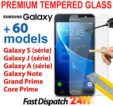 For Samsung Galaxy S9/S8/A3/A5/A6+/J3/J5/J6 Plus Tempered Glass Screen Protector