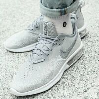 NIKE AIR MAX SEQUENT 4 Trainers Gym Running Casual UK Size 10 (EUR 45) Wolf Grey