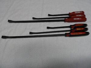 """Craftsman Professional STD Pry Bar Set, 12"""" 17"""" 25"""", 6 pcs USA - p/n 43288/43395"""