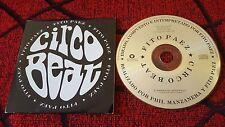 Latin Rock FITO PAEZ **Circo Beat** RARE SPAIN PROMO CD SINGLE GUSTAVO CERATI