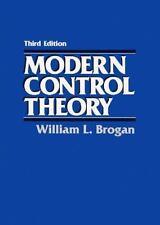Modern Control Theory (3rd Edition) by Brogan, William L.