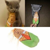 Funny Interactive Cat Toys Stuffed Plush Corn Pet Kitten Teaser Catnip Squeaky