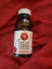 Cherry Bay 100% Tart Montmorency Cherry Concentrate 8 oz Liquid Exp 11/2019 A062