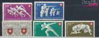 Schweiz 545-549 postfrisch 1950 Pro Patria (7387818