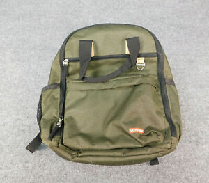 Skip Hop Baby Diaper Bag Backpack With Changing Mat Green Good Condition
