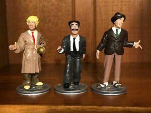 Vintage 1992 Chico Harpo Groucho Marx Brothers figure set Hamilton MIB