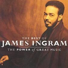 James Ingram : The Best Of James Ingram: THE POWER of GREAT MUSIC CD (1991)