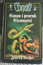 CONAN I PROROK CIEMNOSCI Jeffrey Archer | Polish book | Hardback 1999