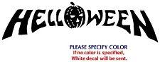"Helloween Metal Music Rock Band Funny Vinyl Sticker Decal Car Window Wall 12"""