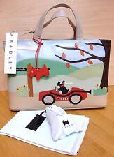 Radley Away Day Signature Handbag - BNWT - WORLDWIDE POSTAGE - RARE