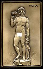 ANTIQUE/ITALIAN SCULPTOR NUDES / ART / MYTHOLOGY BACCO WINE GOD /SPECIMEN  M10E*