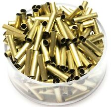Solid Brass Tube Spacer Beads Hole Size 2 Mm, Length 10 Mm,Pkg. Of 100,Raw Brass