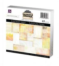 "Prima  #960087   ""Sunrise Sunset""   6""x6"" Paper Stack  48 Sheets  NEW"