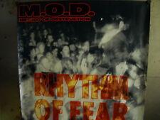 M.O.D METHOD OF DESTRUCTION 1992 Large Promo Poster RHYTHM OF FEAR super rare