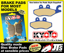 REAR SET OF DISC BRAKE PADS TO SUIT PIAGGIO X7 125cc (08-09)