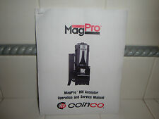 MagPro Bill Acceptor Operation and Service Manual For Mag50B, Mag52Bx & Mag50Sa