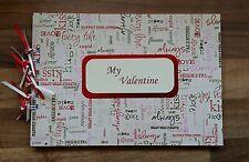 Giorno Di San Valentino Personalizzata Testo Foto Album/libro di scarto o album di memoria