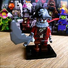 LEGO 71010 MONSTERS ZOMBIE PIRATE #2 Series 14 Minifigures SEALED minifig hook