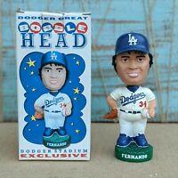 Fernando Valenzuela 34 Bobblehead 2001 Los Angeles Dodgers Stadium Giveaway NIB