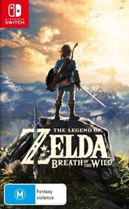 The Legend of Zelda: Breath of the Wild *Game Cartridge Only* Nintendo Switch