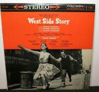 WEST SIDE STORY SOUNDTRACK (VG) OS-2001 LP VINYL RECORD
