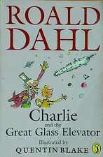 Charlie & the Great Glass Elevator Roald Dahl FREE AUS POST good used cond PB95