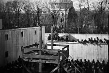 New 5x7 Civil War Photo: Execution of Henry Wirz of Andersonville Prison - 1865
