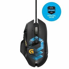 Logitech G502 Proteus Spectrum GAMING MOUSE RGB TUNABLE 11Button Infinite Scroll