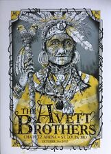 The Avett Brothers 10/7/2017 Poster St. Louis MO Signed & Numbered #/200