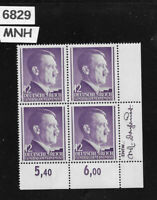 #6829  MNH Adolph Hitler stamp block 12GR / 1941 / Third Reich / Occupied Poland
