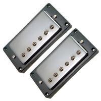 couleur BLANC 2 Contours de micros Humbucker pour Gibson LP ou autres