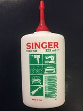 SINGER Sewing Machine Oil 125 ML-qualità MULTIUSO OLIO fine
