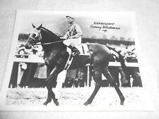 """SEABISCUIT ( SONNY WORKMAN UP ) 8 """" x 10 """" BLACK & WHITE PHOTO"""