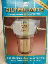 Filter Mite by Omni Compact Taste Odor Sediment Water Filter For Home Boat RV