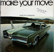 Chrysler Newport 300 New Yorker 1968 USA Market Smaller Format Sales Brochure