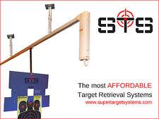 Target Retrieval System for Rifle Pistol Shooting Range up to 75 feet custom cut