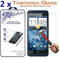 2x For HTC Desire 626 626S Ballistic Tempered Glass Screen Protector