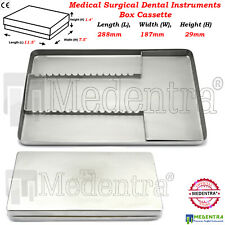 Stainless Steel Dental Lab Tray Medical Surgical Dish Instruments 288 x187 x29mm
