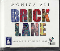 Monica Ali Brick Lane 13CD Audio Book Unabridged Meera Syal FASTPOST