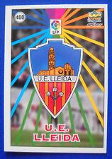 CARD FUTBOL - LAS FICHAS DE LA LIGA 98-99 - N. 400 - ESCUDOS/EQUIPO - LLEIDA