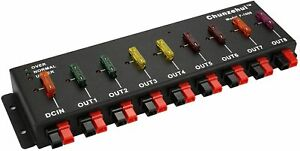 9 Port 40A Anderson Powerpole Connector Power Splitter Distributor Source Strip
