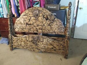Restored Antique Bedframe