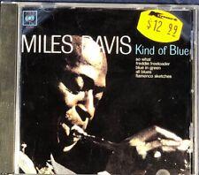 Miles Davis - Kind Of Blue 1986 CD Album