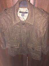 Marc Jacobs Khaki Brown Short Jacket
