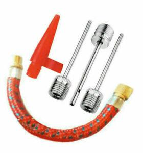Bike & Ball Football Valve needle adaptor inflator rugby vollybal adapter pump