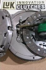 FORD MONDEO 2.0 TD DIESEL 6 SP SINGLE MASS FLYWHEEL UPGRADE AND LUK CLUTCH, CSC
