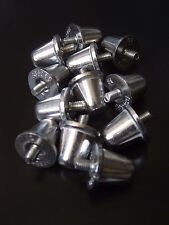 Rugby Union Aluminium Studs 18mm  x  12   Silver