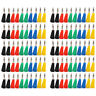 100 Pcs 5 Color Banana Plug For Test Probes 4mm Binding Post Jack Soldering